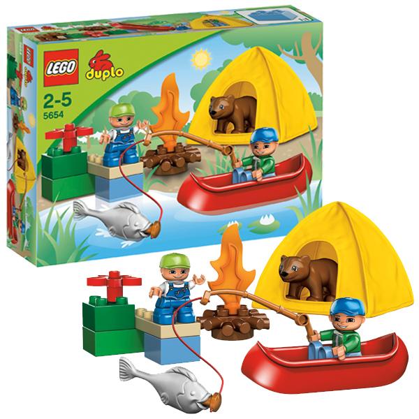 Лего Дупло 5654 Конструктор Поездка на рыбалку