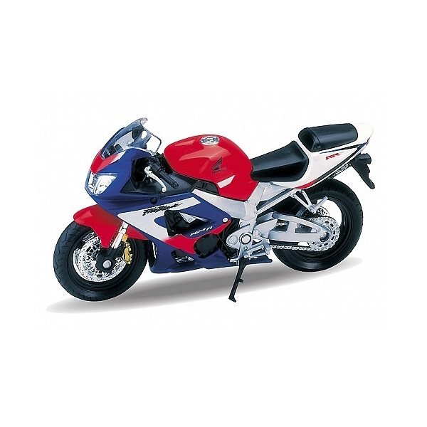 Welly 12164P Велли Модель мотоцикла 1:18 MOTORCYCLE / HONDA CBR900RR FIREBLADE welly модель мотоцикла 1 18 yamaha yzf r1