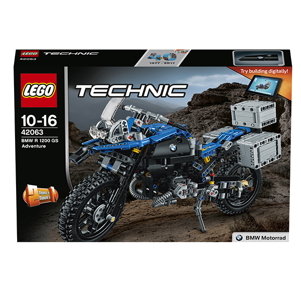 Lego Technic 42063 Конструктор Лего Техник Приключения на BMW R1200 GS