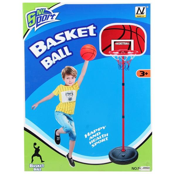 NL Sport HWA1044504 Баскетбольная стойка с кольцом, 160 см