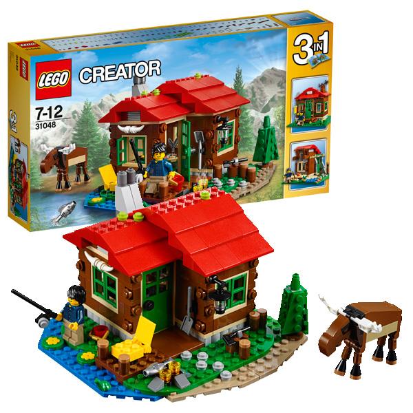 Конструктор Lego Creator 31048_9 Домик на берегу озера
