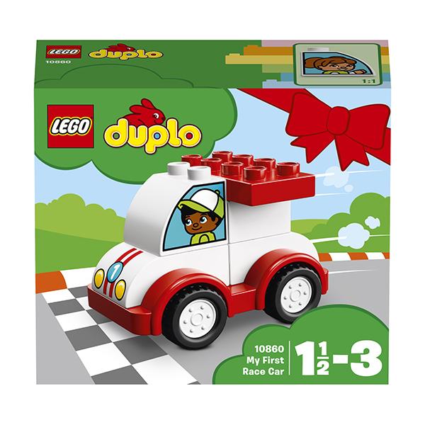 Lego Duplo 10860 Мой первый гоночный автомобиль
