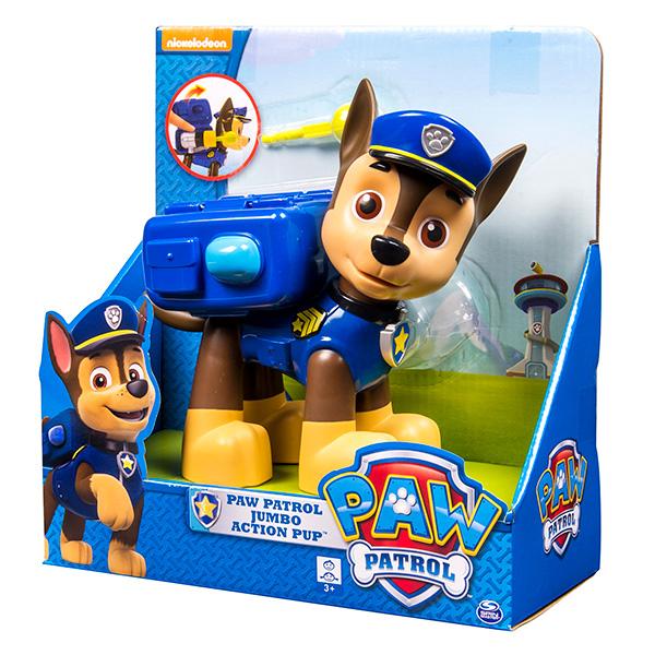 Paw Patrol 16622 Щенячий патруль Большой щенок с рюкзаком-трансформером в ассортименте