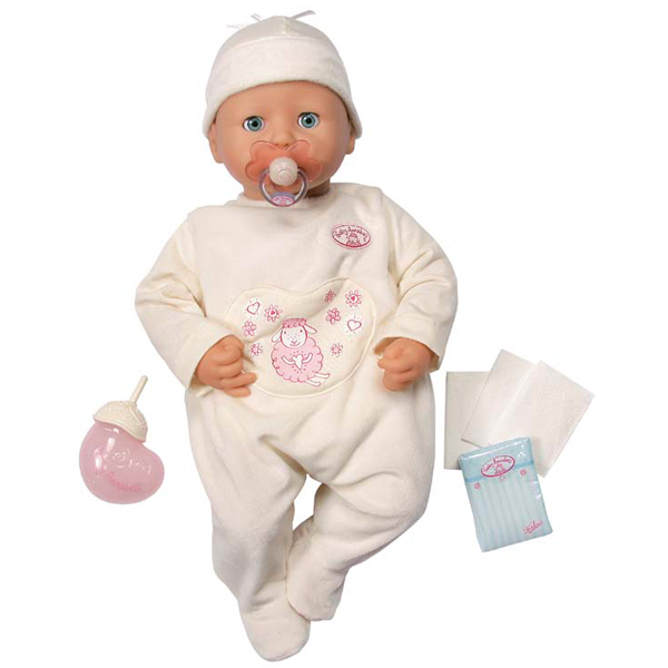 Zapf Creation Baby Annabell 763-551_1 Бэби Аннабель Кукла 46 см, поворачивающая голову