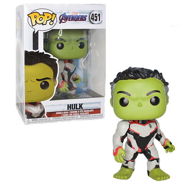 Funko POP 36659F Bobble: Marvel: Avengers Endgame: Hulk 36659