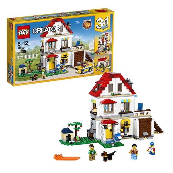 Lego Creator 31069 Лего Криэйтор Загородный дом лего 31035 конструктор криэйтор домик на пляже