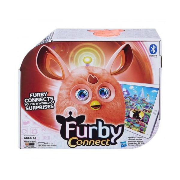 Hasbro Furby B7150/B7153 Ферби Коннект ТЕМНЫЕ ЦВЕТА оранжевый