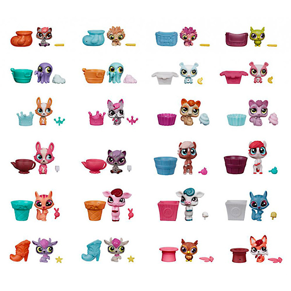 Hasbro Littlest Pet Shop A8240 Литлс Пет Шоп Зверюшка в закрытой упаковке (в ассортименте) hasbro littlest pet shop c0796 литлс пет шоп радужная коллекция 13 крошечных радужных петов