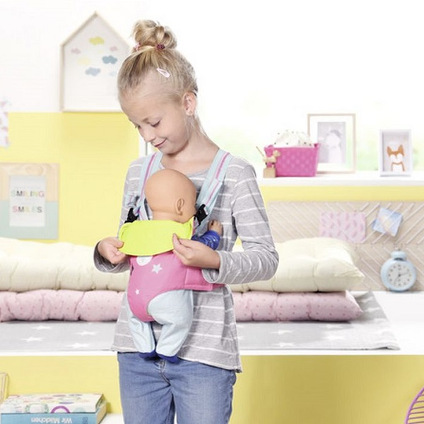 Zapf Creation Baby born 824-443 Бэби Борн Cумка-кенгуру