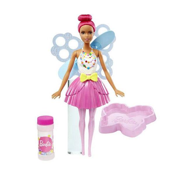 Mattel Barbie DVM96 Барби Феи с волшебными пузырьками Яркая mattel barbie dvm99 барби маленькие русалочки с пузырьками модная