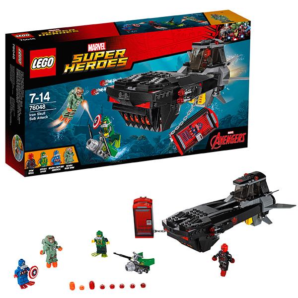 Lego Super Heroes 76048 Конструктор Лего Супер Герои Похищение Капитана Америка lego super heroes конструктор воздушная погоня капитана америка 76076