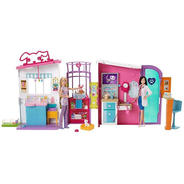 Mattel Barbie FBR36 Барби Ветеринарный центр