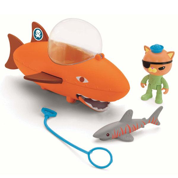 Mattel Octonauts T7017 Октонавты Подводный транспорт + фигурка (в ассортименте)
