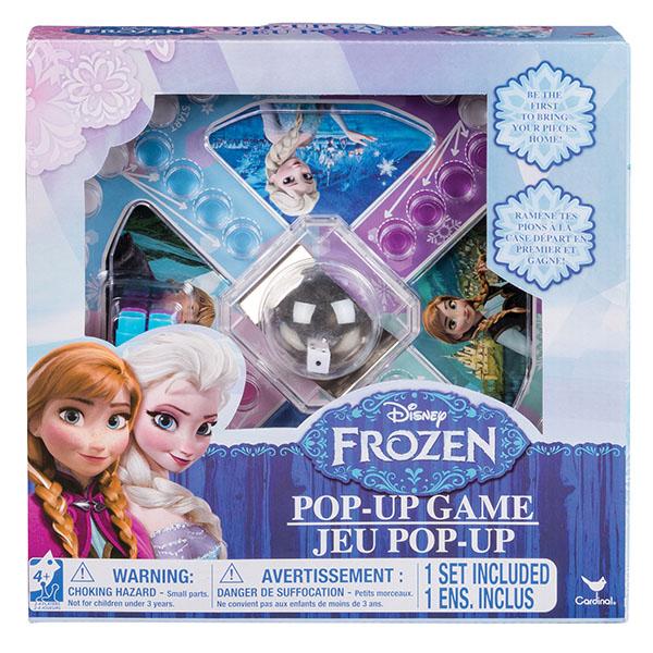 Spin Master 6033079 Настольная игра с кубиком и фишками Disney Холодное Сердце