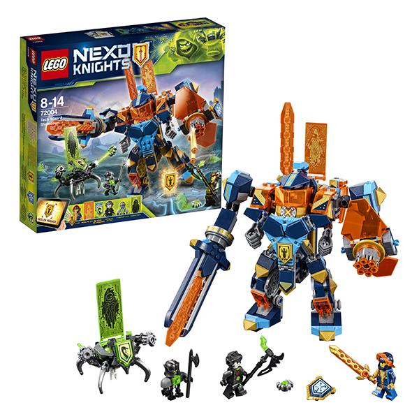 Lego Nexo Knights 72004 Конструктор Лего Нексо Решающая битва роботов lego nexo knights 70351 лего нексо самолёт истребитель сокол клэя