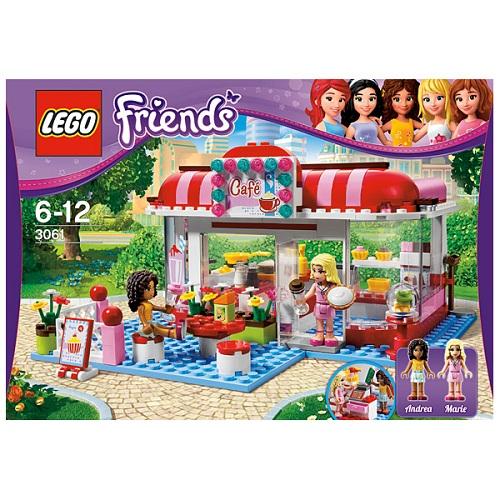 Лего Подружки 3061 Кафе в городском парке