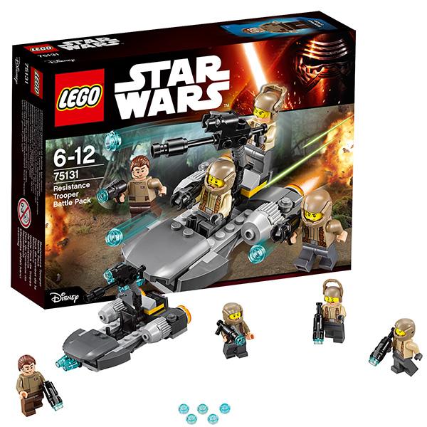 Lego Star Wars 75131 Лего Звездные Войны Боевой набор Сопротивления  lego star wars 75131 боевой набор сопротивления