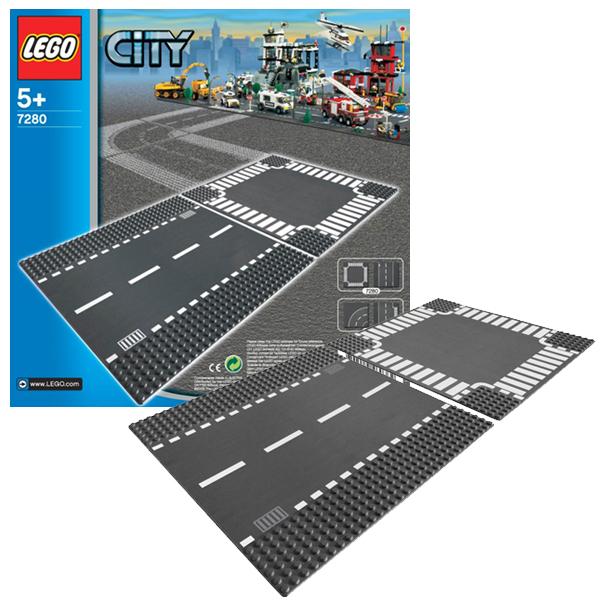 купить Lego City 7280 Конструктор Лего Город Перекресток по цене 429 рублей