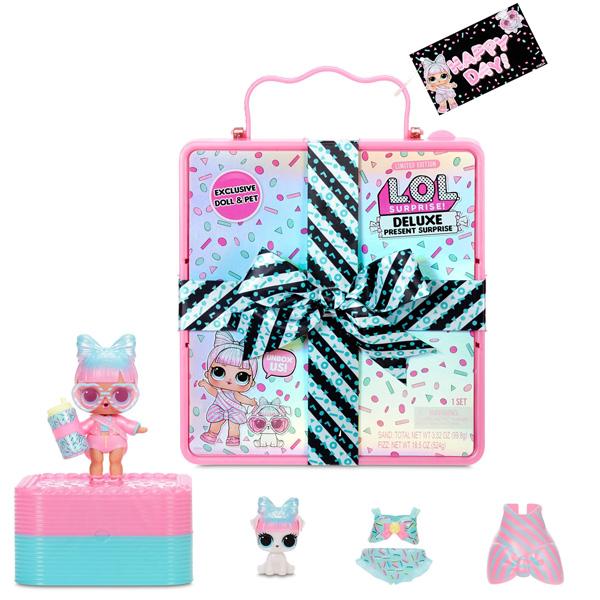 L.O.L. Surprise 570691 Шипучий сюрприз Present Surprise - Розовый