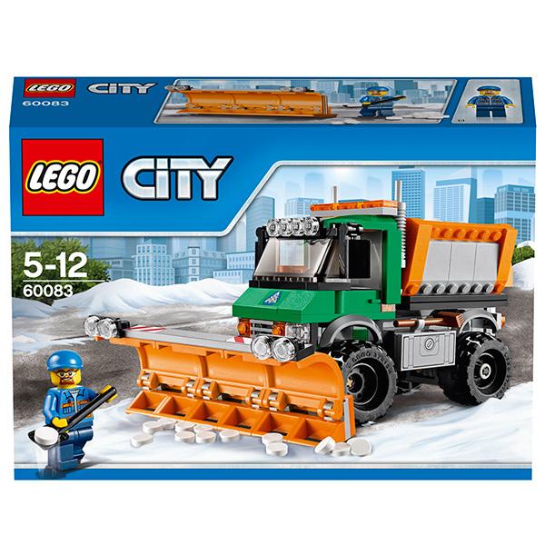LEGO City 60083 Конструктор ЛЕГО Город Снегоуборочный грузовик