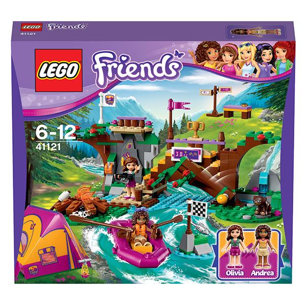 Lego Friends 41121 Конструктор Спортивный лагерь: сплав по реке