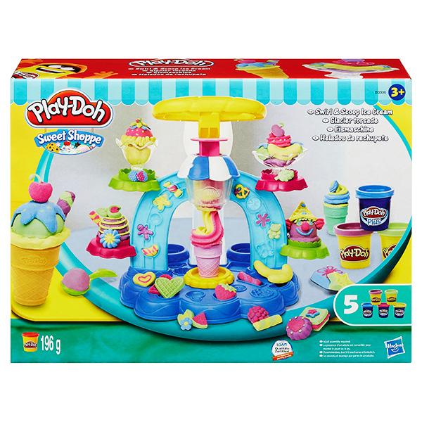 Hasbro Play-Doh B0306 Игровой набор пластилина Фабрика мороженого play doh игровой набор фабрика мороженого hasbro play doh
