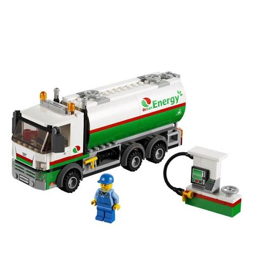 Lego City 60016 Конструктор Лего Город Бензовоз