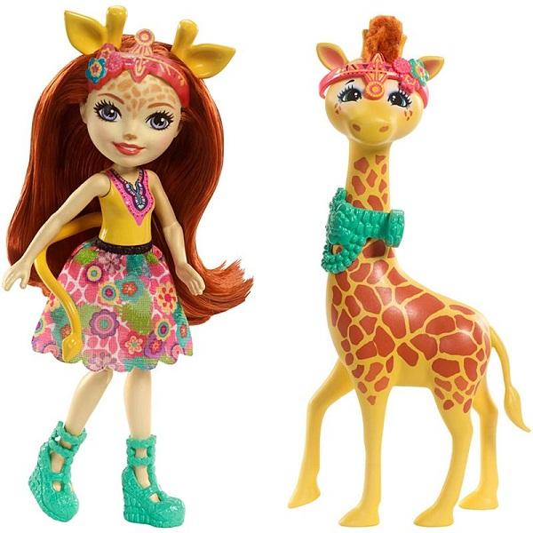 Mattel Enchantimals FKY74 Кукла с большой зверюшкой игровой набор enchantimals кукла со зверюшкой и аксессуарами в ассортименте