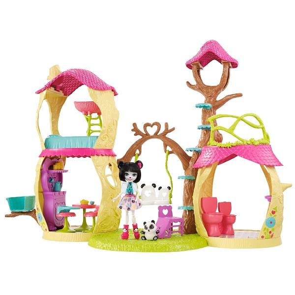 Mattel Enchantimals FNM92 Лесной замок игровой набор enchantimals лесной замок