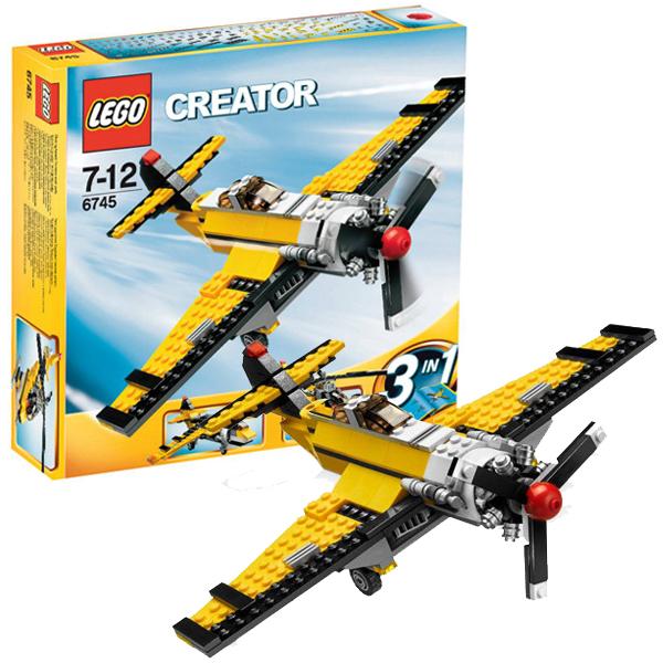 Конструктор Lego Creator 6745 Конструктор Аэроплан с пропеллером