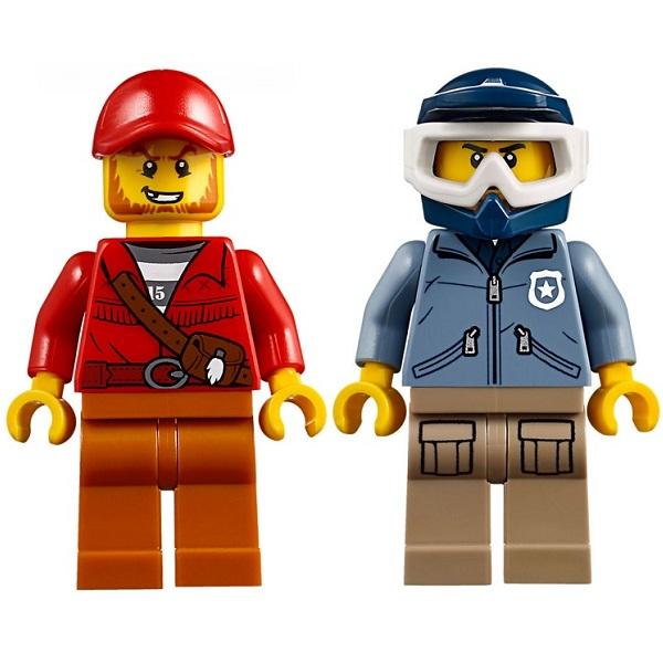 Lego City 60170 Конструктор Лего Город Погоня на внедорожниках