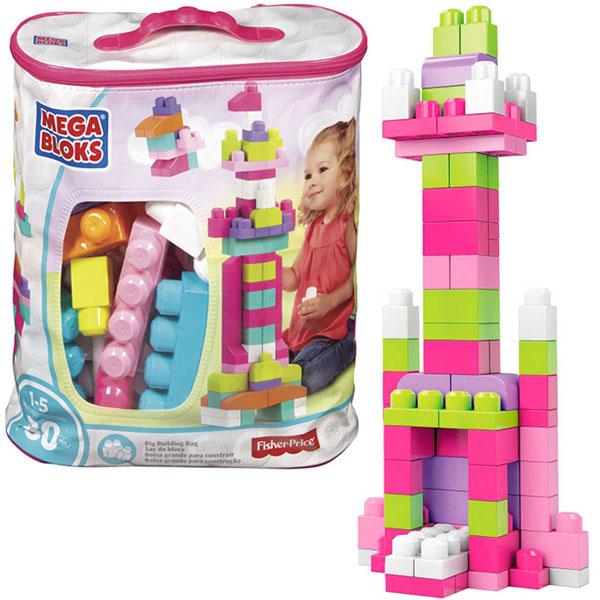 Mattel Mega Bloks DCH62 Мега Блокс Мой первый конструктор 80 деталей mega bloks конструктор для малышей mega bloks dch62