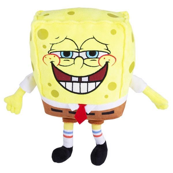 SpongeBob EU690902 Плюшевый Спанч Боб (со звук. эффектами,пукает,20 см) мягкая игрушка spongebob спанч боб со звуковыми эффектами eu690903