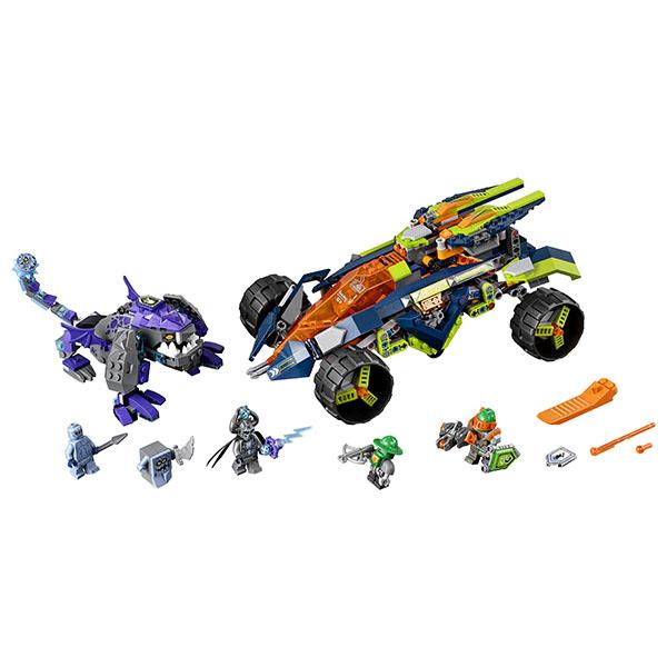 Lego Nexo Knights 70355 Конструктор Лего Нексо Вездеход Аарона 4x4