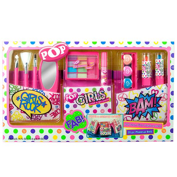 Markwins 3601051 POP Набор детской декоративной косметики с поясом визажиста