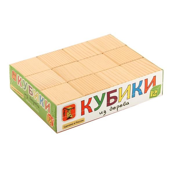 Pelsi i661 Кубики неокрашенные, 12 шт.