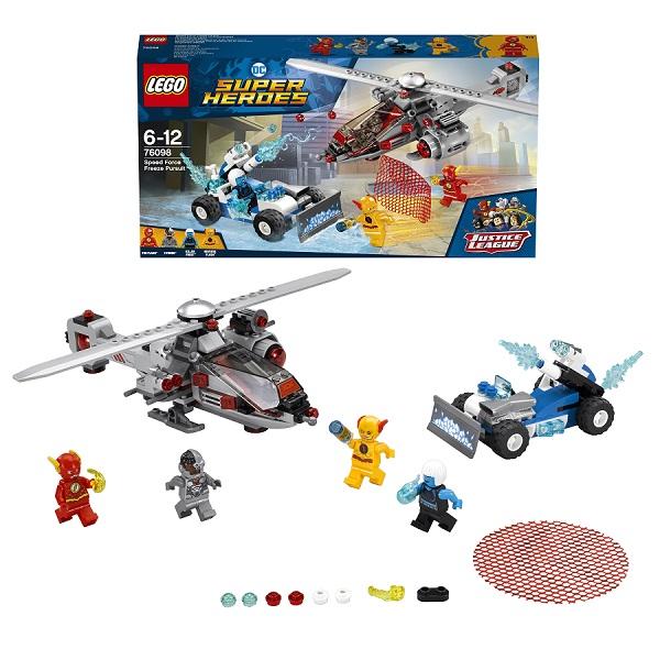 Lego Super Heroes 76098 Конструктор Лего Супер Герои Скоростная погоня lego super heroes конструктор скоростная погоня 76098
