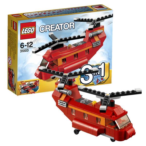 Конструктор Лего Криэйтор 31003 Конструктор Грузовой вертолёт (самолёт/судно на воздушной подушке)