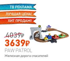 Paw Patrol 16695 Щенячий патруль Железная дорога спасателей