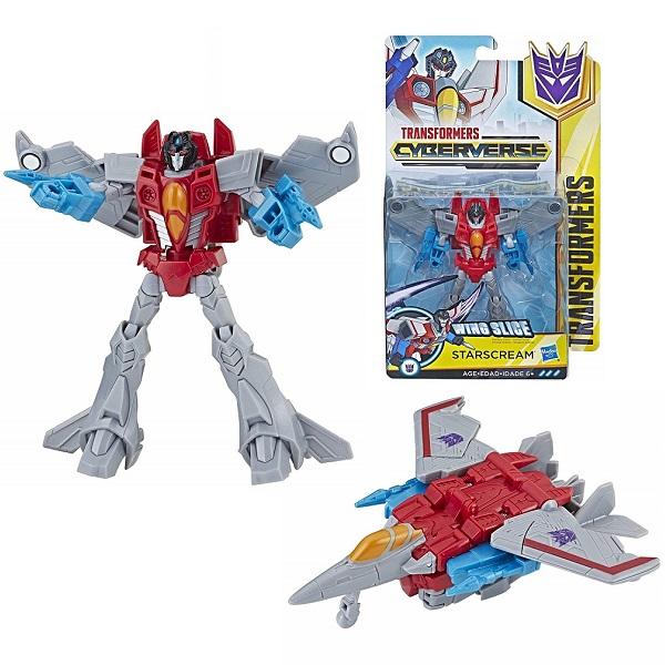 Hasbro Transformers E1884/E1902 Трансформер КИБЕРВСЕЛЕННАЯ 14 см Старскрим недорого