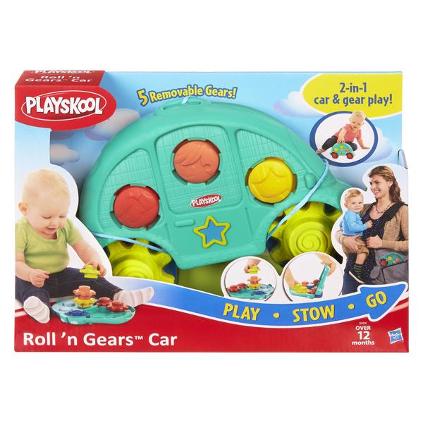 Hasbro Playskool B0500 Возьми с собой Машинка и шестеренки hasbro игрушка каталка playskool возьми с собой мини щенок