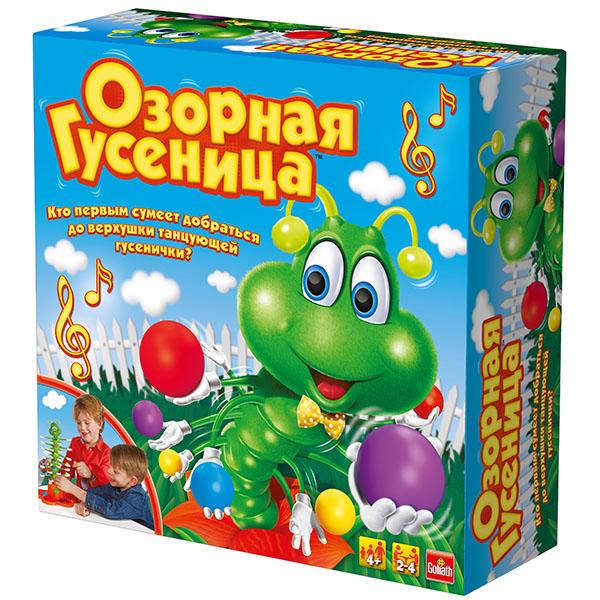 """Goliath 30980.006 Настольная интерактивная игра """"Озорная гусеница"""""""