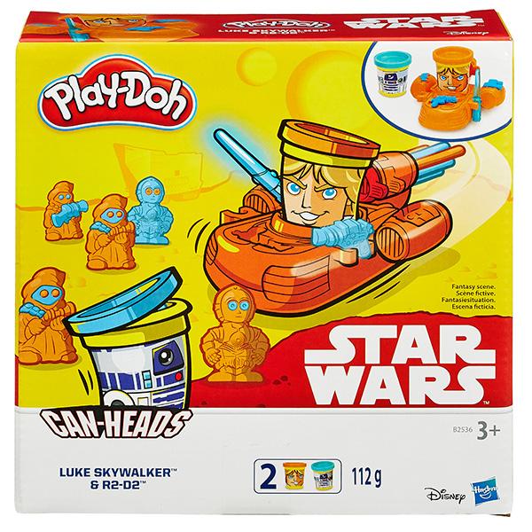 Hasbro Play-Doh B0595 Герои Звездные войны (в ассортименте) hasbro play doh b5517 игровой набор из 4 баночек в ассортименте обновлённый