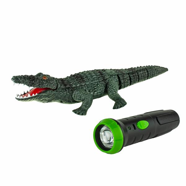 1toy T16445 Робо-Крокодил на ИК управлении (звук, свет, движение) фигурка amiibo чиби робо коллекция chibi robo