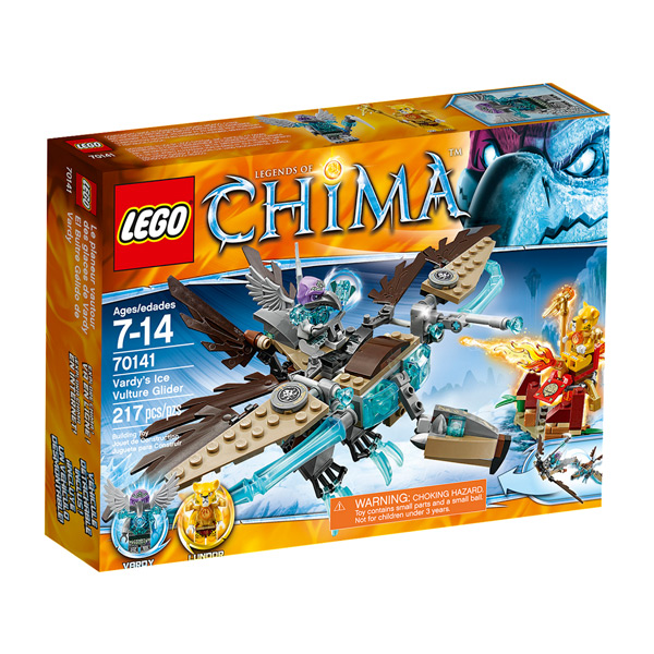 Lego Легенды Чима 70141 Конструктор Ледяной планер Варди