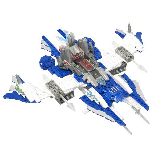 Tenkai Knights 64710 Тенкай Найтс Трансформер Десантный корабль 2 в 1