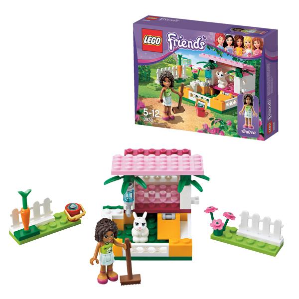 Конструктор Lego Friends 3938 Лего Подружки Андреа и её маленький кролик