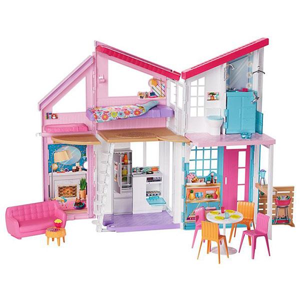 Фото - Mattel Barbie FXG57 Барби Дом Малибу кинотеатр