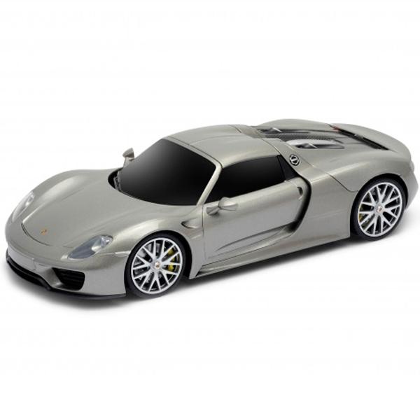 Welly 84023 Велли Радиоуправляемая модель машины 1:24 Porsche 918 Spyder машины auldey машина на батарейках радиуоправляемая porsche 918 spyder concept lc258110