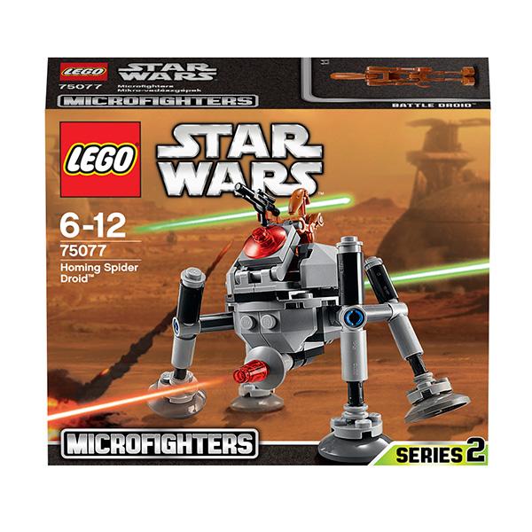 Lego Star Wars 75077 Конструктор Лего Звездные Войны Самонаводящийся дроид-паук